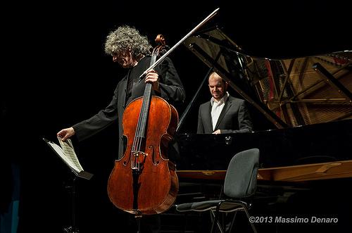 Steven Isserlis e Kirill Gerstein